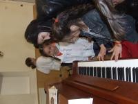 Látogatás a Zene Iskolában.